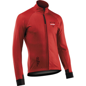 Northwave Blade 3 Jacket Total Protection Men, dark red